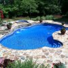 Pool Paver and Landscaping